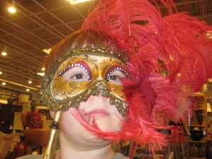 I wonder if they have Mardi Gras masks in Disney World